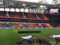 Первый канал покажет матчи сборной России с Кот-д'Ивуаром и Бельгией