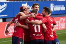 «Осасуна» вырвала победу у «Эйбара» в матче аутсайдеров