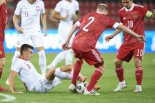 Неудачный решающий бой молодёжной сборной России - видео