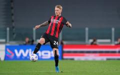 «Милан» начал переговоры с Кьяером по новому контракту