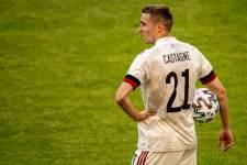 Игрок сборной Бельгии Кастань больше не сыграет на Евро-2020