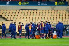 «Барселона» объявила состав на финал Кубка Испании